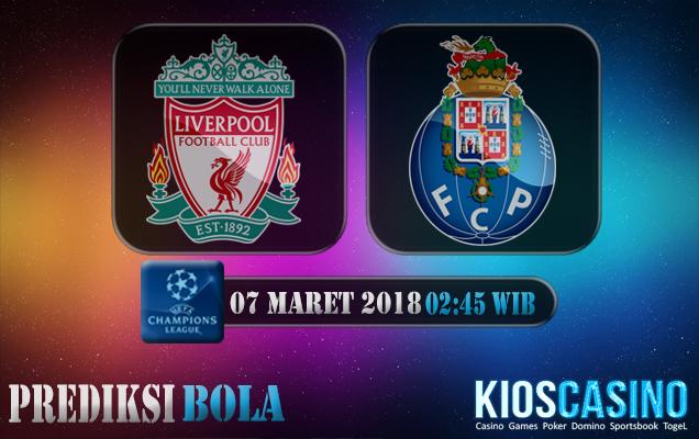 Prediksi Skor Liverpool vs Porto 07 Maret 2018