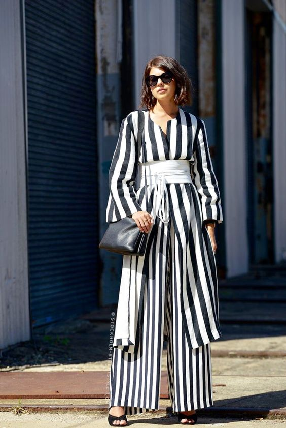 Image result for stripes street style 2017