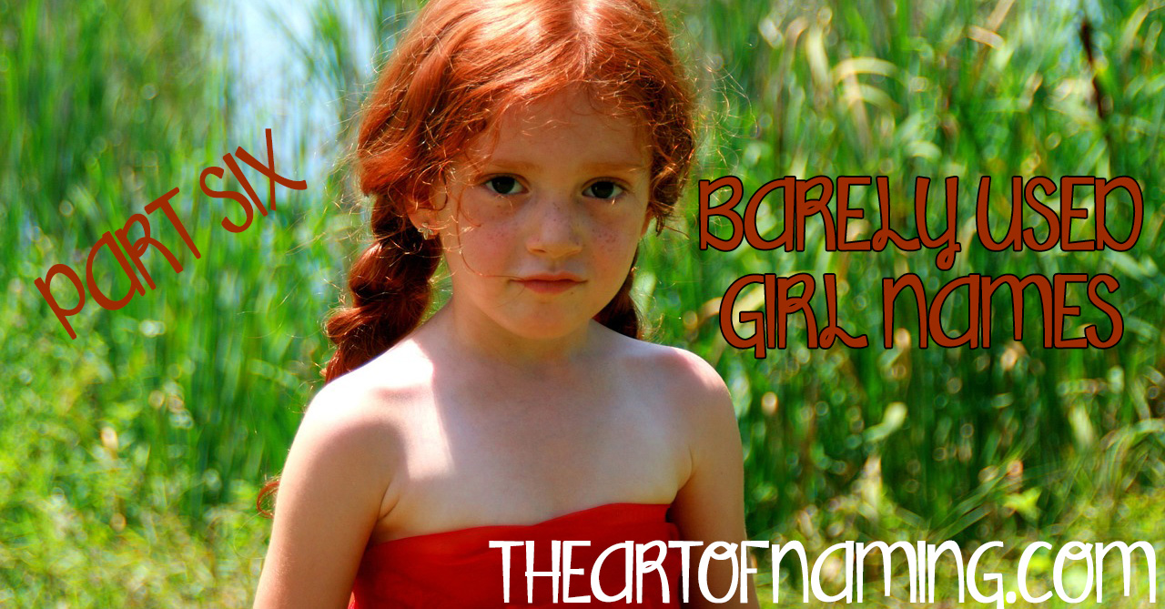 Unique Girl Names: The Art Of Naming: Barely Used Girl Names: Marcella