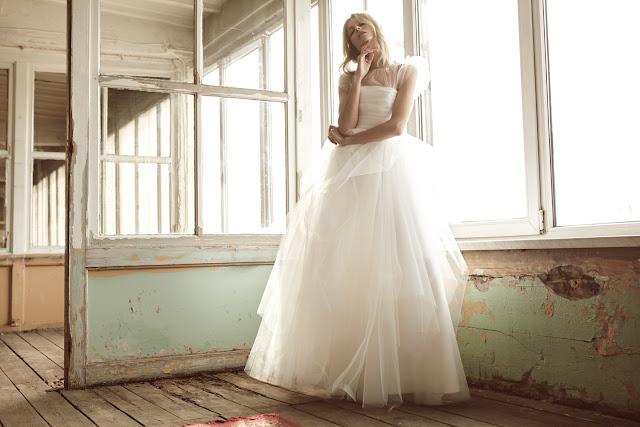 Suknia ślubna (księżniczka) od BIZUU.