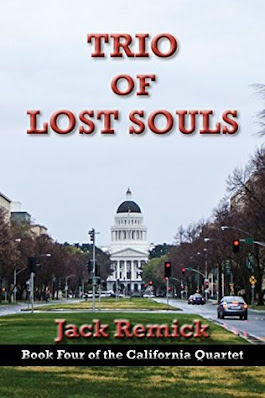 Trio of Lost Souls by Jack Remick book cover