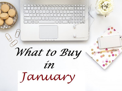 Shopping Hack: January's What to Buy - a list of items you can snag the cheapest this month