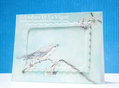 ODBD Bird Single, ODBD Customer Card of the Day Created by Andrea D La Vigne aka Andrea's Paper Antics