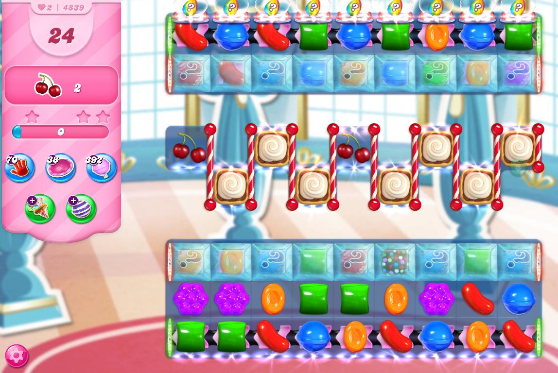 Candy Crush Saga level 4839