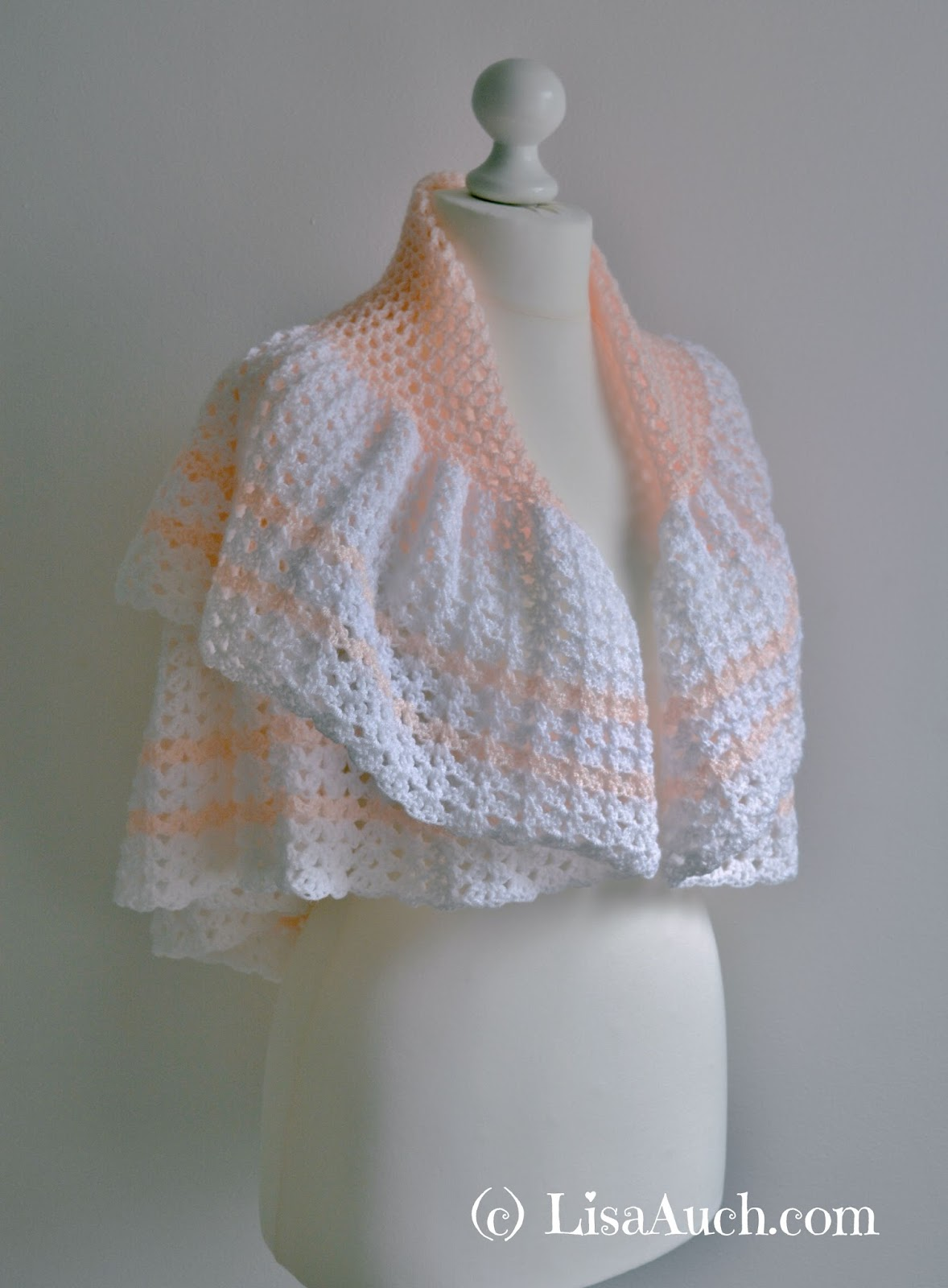 FREE Vintage Crochet Shawl Pattern Easy | Free Crochet Patterns and ...