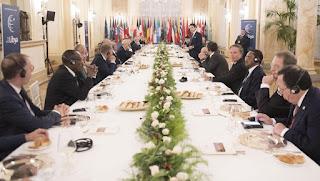 Türkiye Konferansı Terk Etti