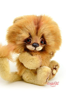 Artist teddy lion, one of a kind, lion teddy, handmade lion, NatalKa Creations, teddies with charm, Clemens Spieltiere, тедді іграшка, stuffed animal, Löwe, Tedddy Löwe