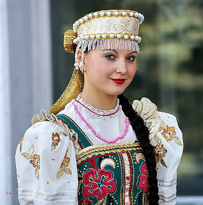Woman In Traditional Russian 22