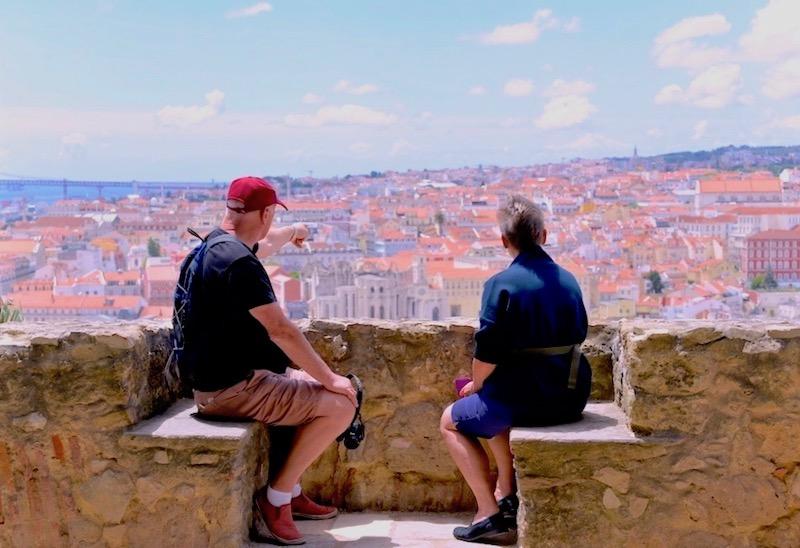 Zamek św. Jerzegopunkt widokowy Lizbona