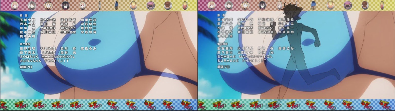 High School DxD Hero Blu-ray VS Anime - Muitos Peitos