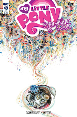 My Little Pony Comic #49 Cover Subscription Variant