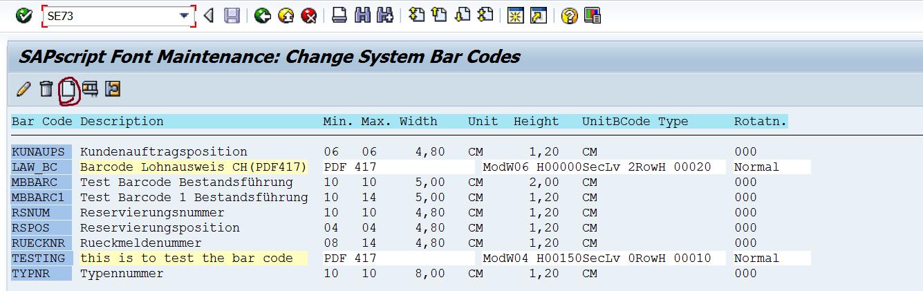 TECHSAP : SCRIPT: Creating BAR CODE and Using it in SAP Script