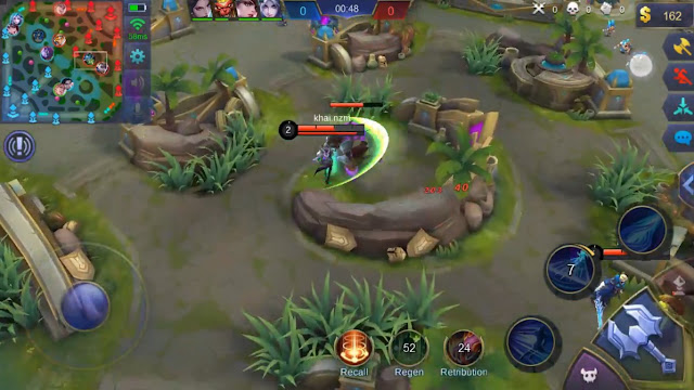 Cara Map Drone View Mobile Legends Layar Luas Thamuz Patch
