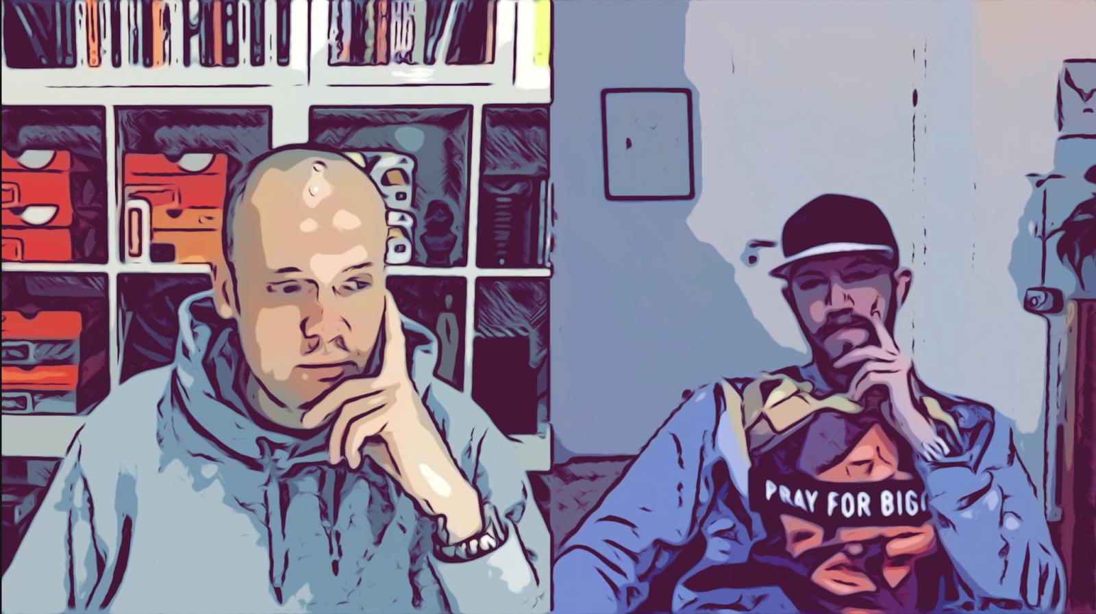 Chris Goertz und Jens Mahnke im Podcast