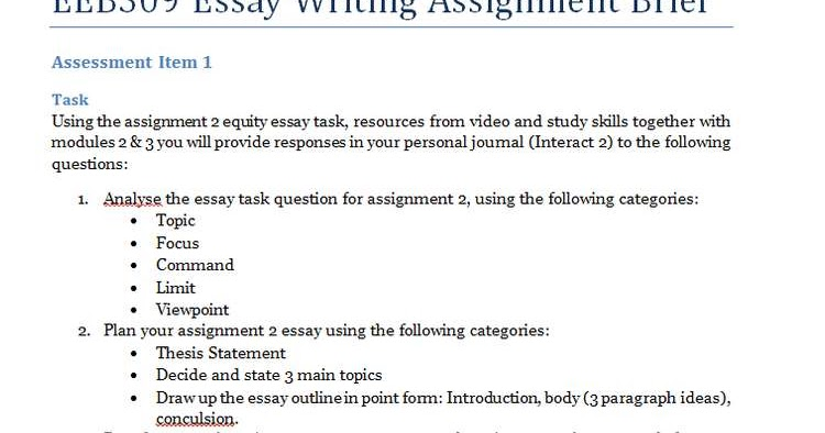 assessment task 1 hlsc 122 essay 1 answer to writing your essay in this final essay, the national hlsc 220 lecturers in charge have agreed that students are able to use the five learning outcomes presented in the unit outline assessment descriptor as headings in their essay.