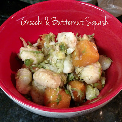 Tasty Delights-- Gnocchi w/ Roasted Butternut Squash ...
