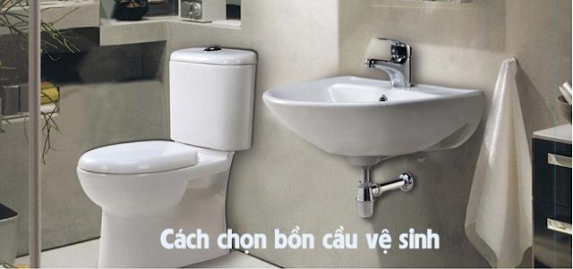 Cách chọn bồn cầu vệ sinh tốt mà giá rẻ, chính hãng