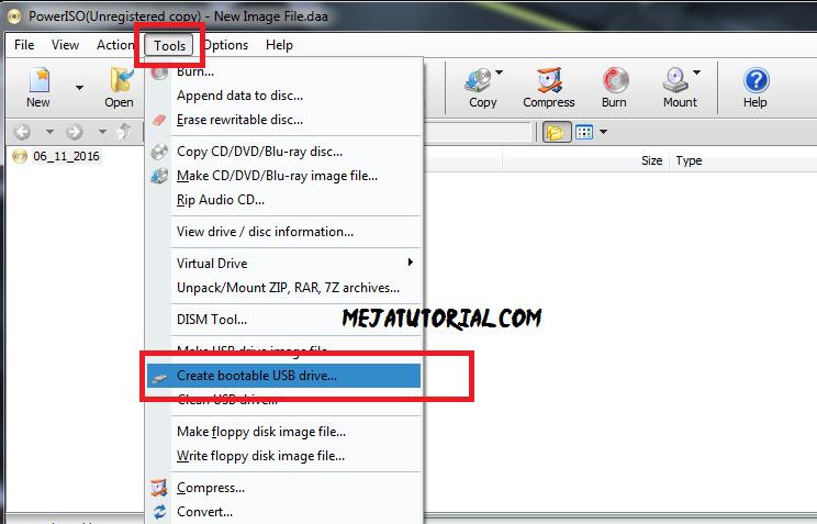 Cara Membakar Windows Ke Flashdisk Dengan Power Iso