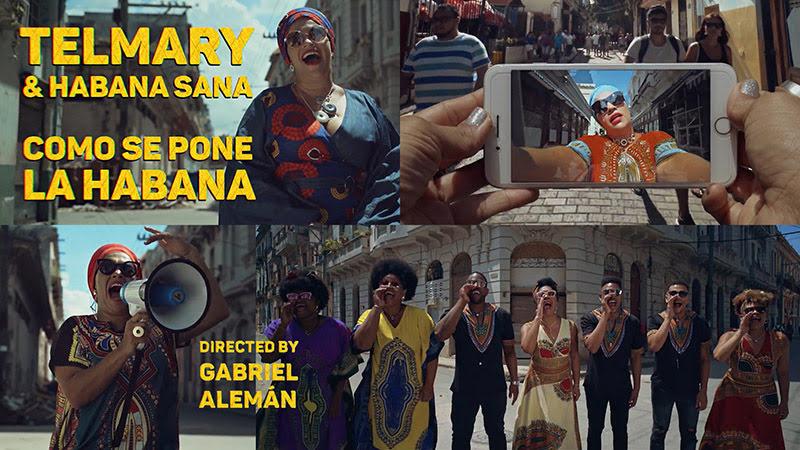 Telmary & HabanaSana - ¨Como se pone La Habana¨ - Videoclip - Dirección: Gabriel Alemán. Portal del Vídeo Clip Cubano
