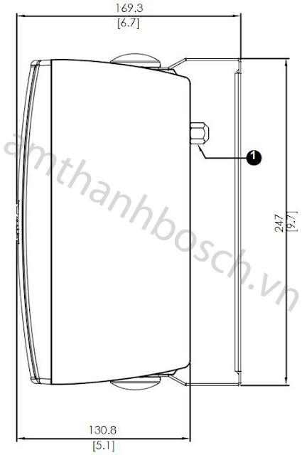 Loa hộp Bosch LB2-UC30-D1