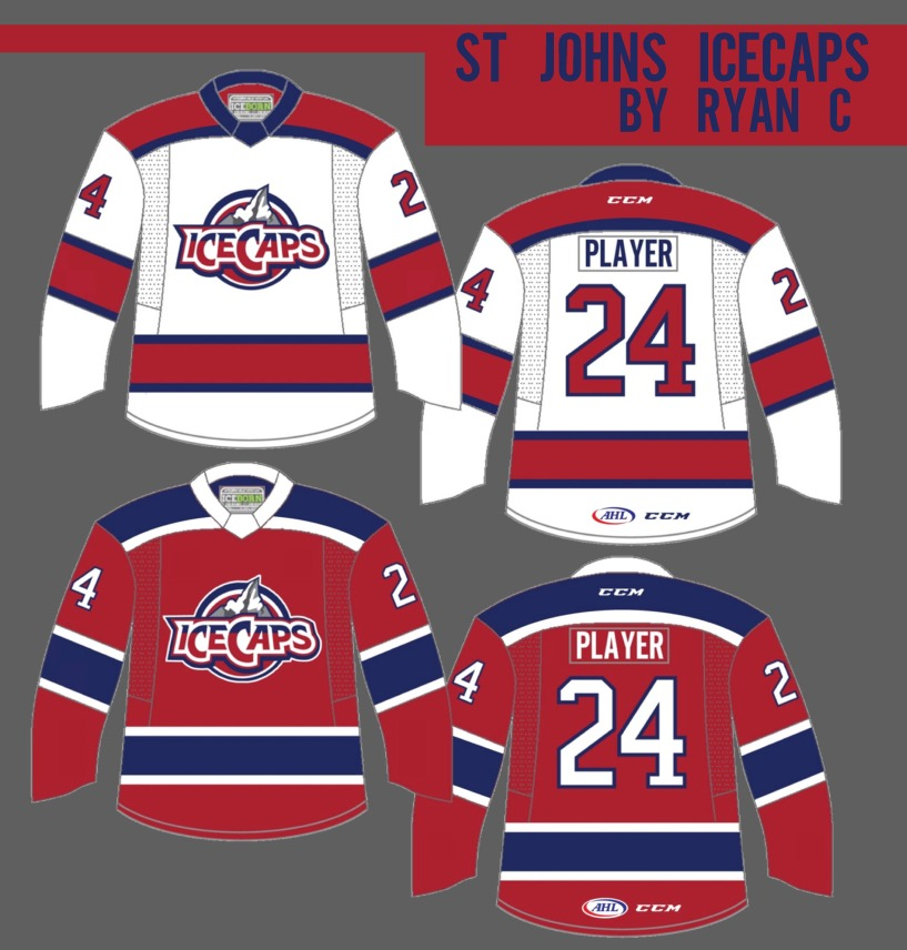 2da22cb6f I feel that if they hadn t gone with the Canadiens  jersey design they would  have done something like this. Nothing fancy