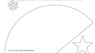 Çilek Modeli Yastık Yapımı