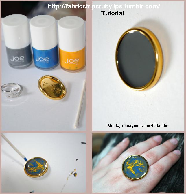 botones, pintar, diys, manualidades, esmalte de uñas