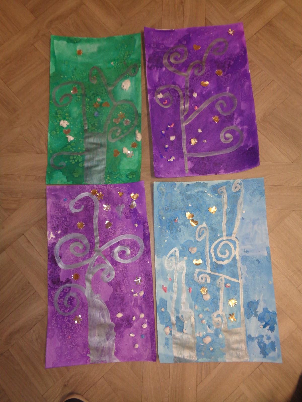 Klimt L Arbre De Vie Tableau l'école de prades: arts visuels : ms (classe tps-ps-ms)