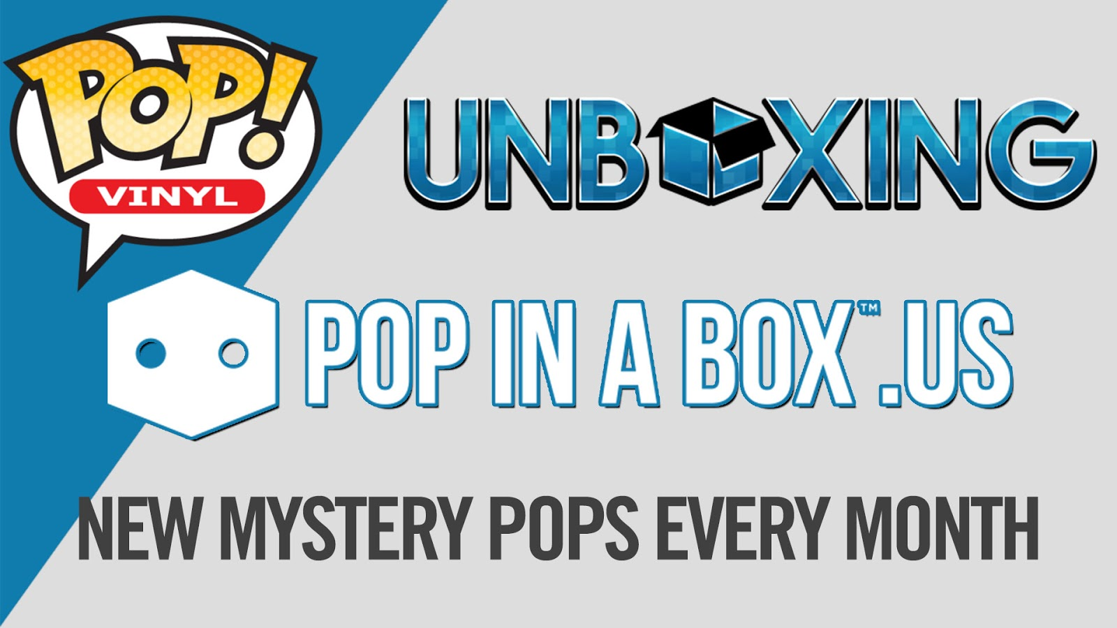 Funko Pop in a Box unboxing