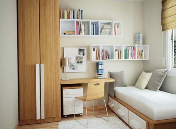 Lựa chọn phong cách đa năng cho căn phòng ngủ nhỏ hẹp