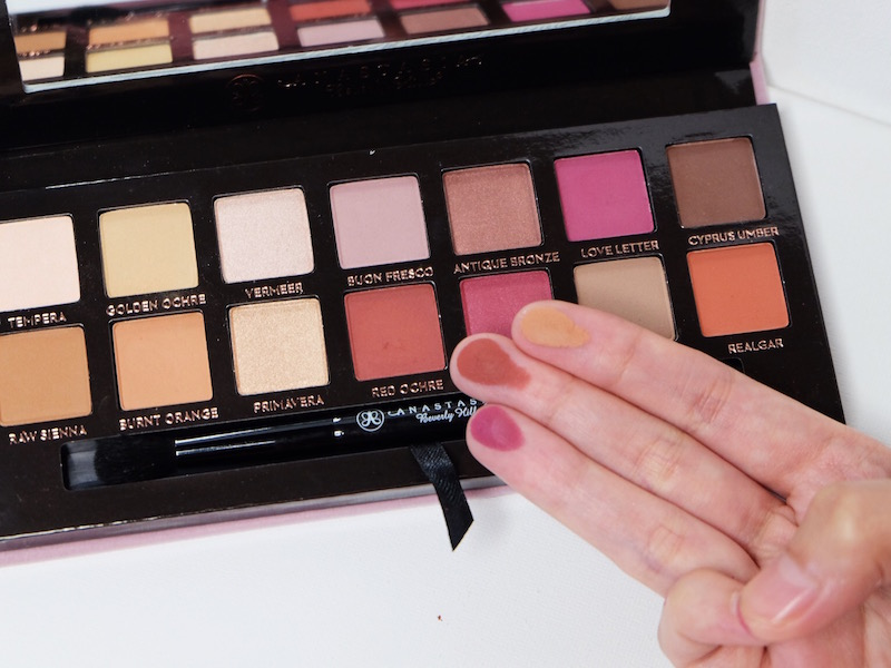 Anastasia Beverly Hills Modern Renaissance Palette Review + Swatches