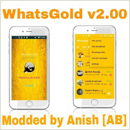 download whatsapp gold edition mod apk