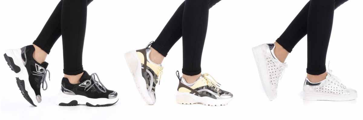 Adidasi fashion negri, albi moderni cu talpa inalta ieftini 2019