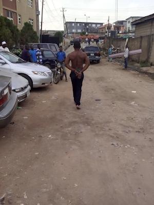 Car thief caught at Ojota