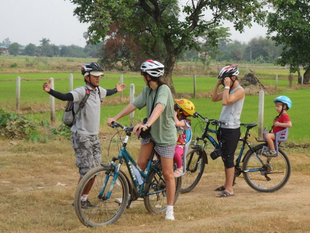 Bicycling in Thailand