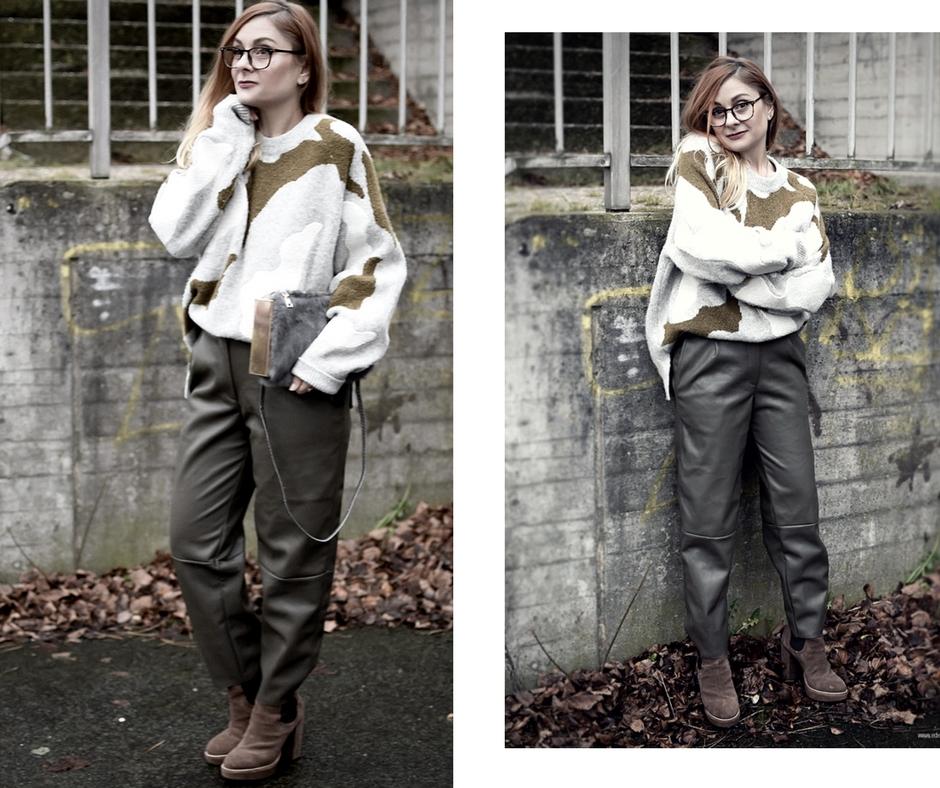 Look mit Oversized Pullover von H&M