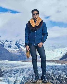 Foto ganteng Daniel Padilla memakai kacamata