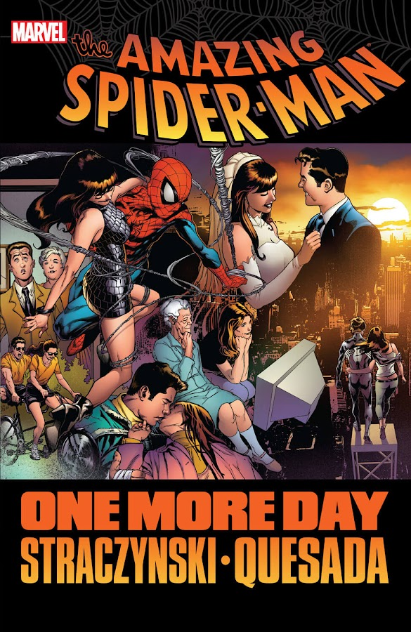 spider-man one more day marvel comics