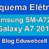 Esquema Elétrico Samsung SM-A720F Galaxy A7 2017 - Manual de Serviço