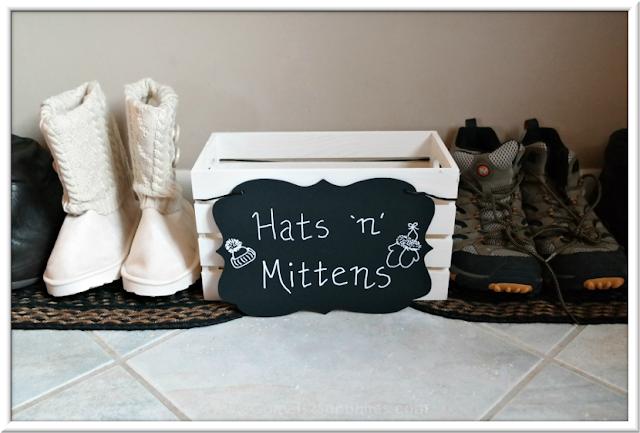 DIY Winter Hats & Mittens Bin  |  3 Garnets & 2 Sapphires
