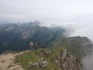 Der Gipfel der Großen Klammspitz ist erreicht