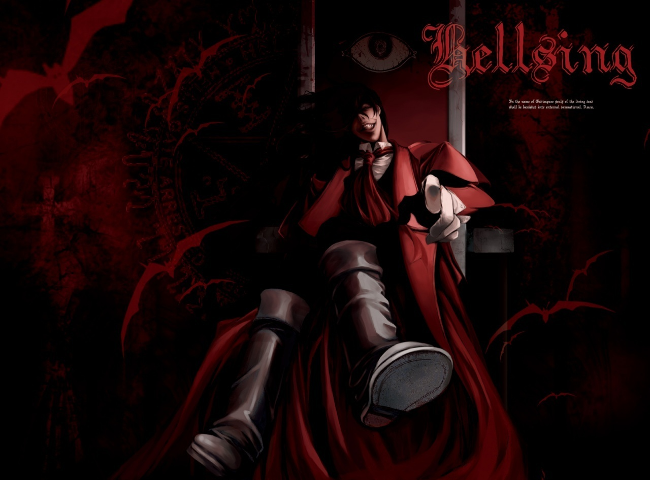 Alucard hellsing 9 wallpapers your daily anime wallpaper - Anime hellsing wallpaper ...