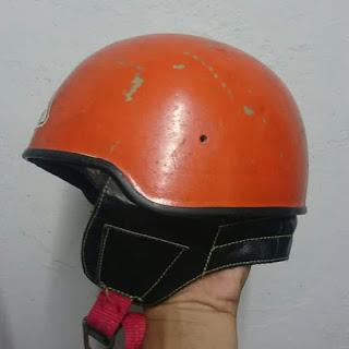 Dijual Vintage helmet⚡  helm anak