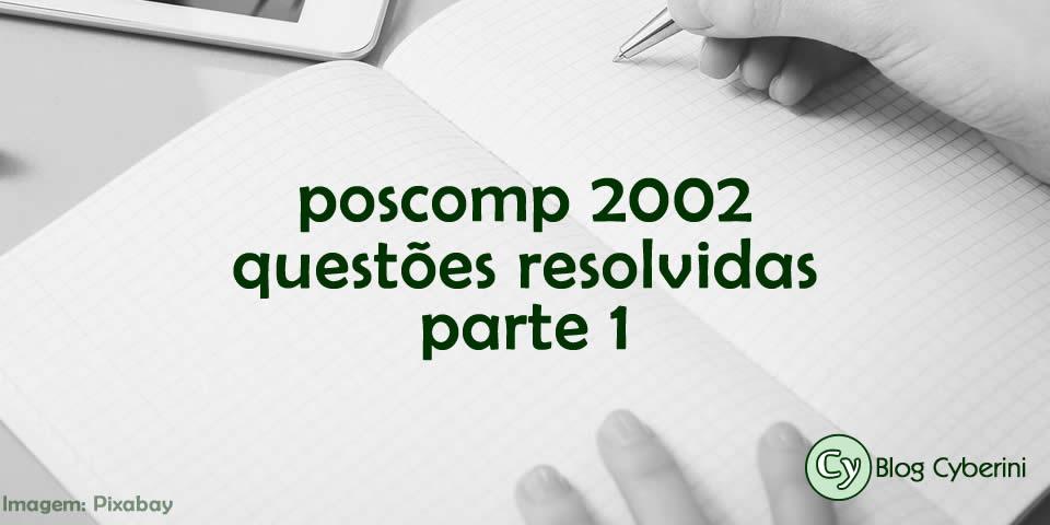 Questões Resolvidas do POSCOMP 2002
