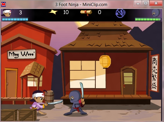 Download Game 3 Foot Ninja