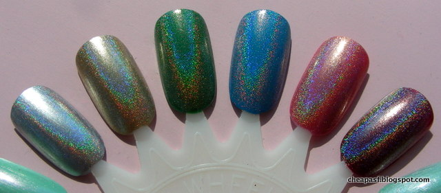 Holographic topcoat
