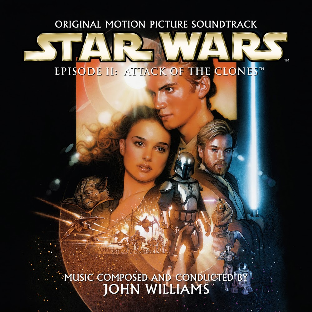 chronological scores soundtracks star wars ii attack of the clones. Black Bedroom Furniture Sets. Home Design Ideas