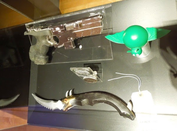 Batman Forever villain movie props