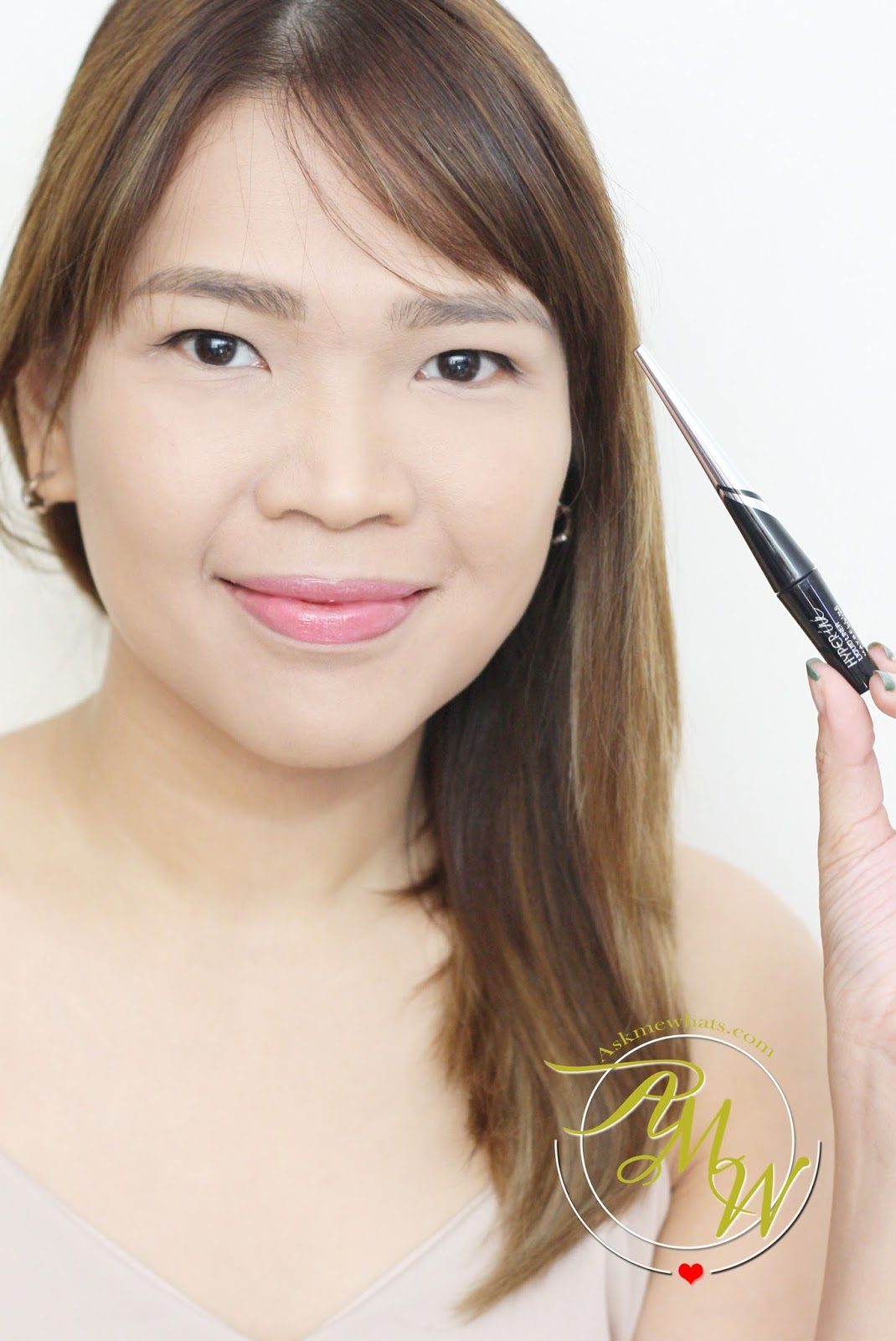 Askmewhats Top Beauty Blogger Philippines Skincare Makeup Review Maybelline Hyper Ink Eye Liner Black A Photo Of Liquid Nikki Tiu