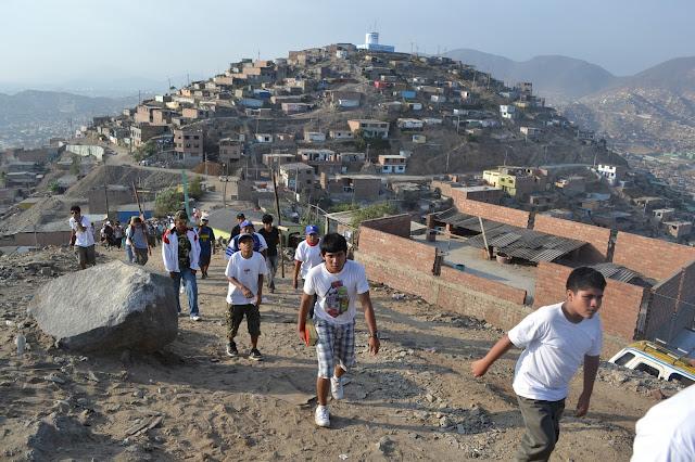 Los cerros de Lima